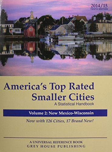 America s Top-Rated Smaller Cities 2014 (Paperback)
