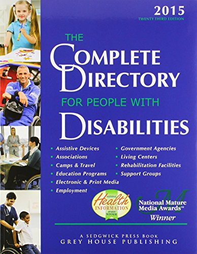 9781619252813: The Complete Directory for People With Disabilities: A Comprehensive Source Book for Individuals and Professionals