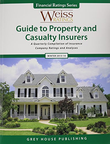 9781619253247: Weiss Ratings Guide to Property & Casualty Insurers, Winter 13/14