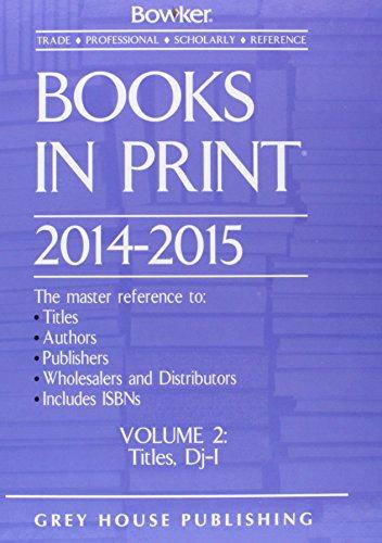 9781619253674: Books in Print 2014-2015, 7 Volume Set