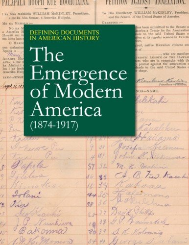 Defining Documents in American History: The Emergence of Modern America (1874-1917): Print Purchase...