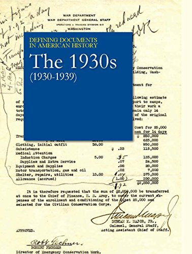 Defining Documents in American History: The 1930s (1930-1939): Salem Press