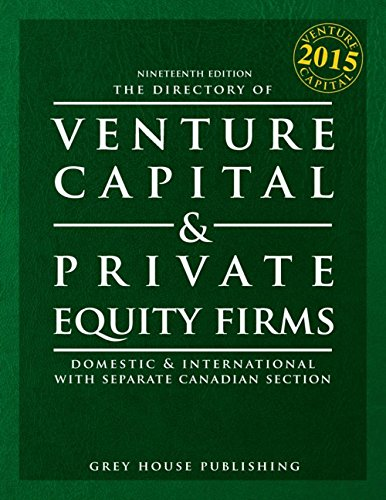 The Directory of Venture Capital Private Equity Firms 2015 (Paperback)