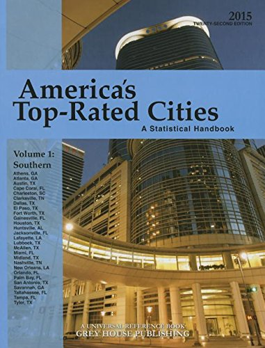 America s Top-Rated Cities: South Volume 1: A Statistical Handbook (Paperback)
