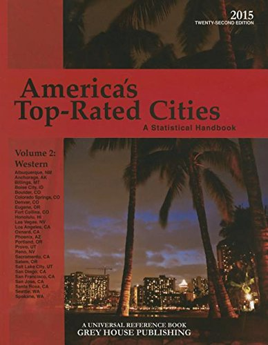America s Top-Rated Cities 2015: West Volume 2 (Paperback)