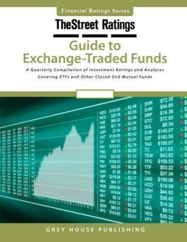 TheStreet Ratings Guide to Exchange-Traded Funds, Summer 2015 (Paperback)