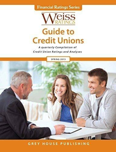 Weiss Ratings Guide to Credit Unions, Summer 2015 (Paperback)