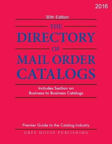 Directory of Mail Order Catalogs 2016 (Paperback)