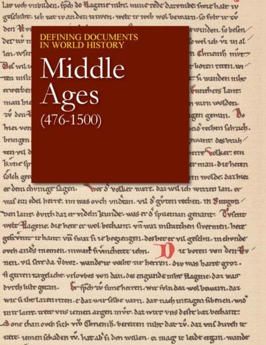 9781619257733: The Middle Ages (476-1500) (Defining Documents in World History)