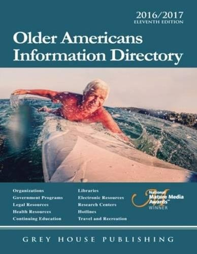 9781619259072: Older Americans Information Directory, 2016/17: Print Purchase Includes 1 Year Free Online Access