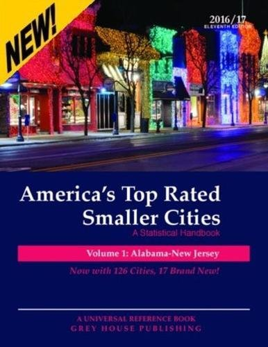 9781619259256: America's Top-Rated Smaller Cities: A Statistical Handbook: Alabama - New Jersey