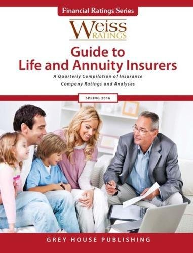 Weiss Ratings Guide to Life Annuity Insurers, Spring 2016 (Paperback)