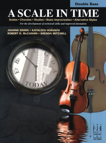 9781619280328: A Scale in Time, Double Bass