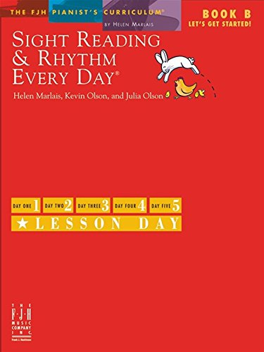 9781619280359: Sight Reading & Rhythm Every Day - Book B - Let's Get Started!