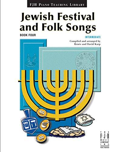 9781619280373: Jewish Festival & Folk Songs, Book 4
