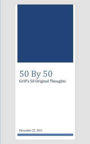 9781619333345: 50 By 50, Griff's 50 Original Thoughts