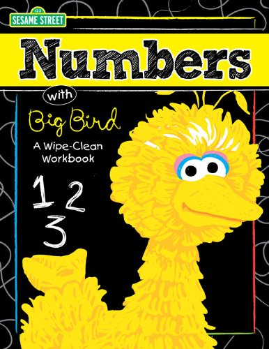 9781619380165: Numbers with Big Bird: A Wipe-Clean Workbook (Sesame Street)