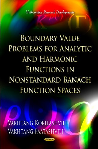 9781619423015: Boundary Value Problems for Analytic and Harmonic Functions in Nonstandard Banach Function Spaces (Mathematics Research Developments)
