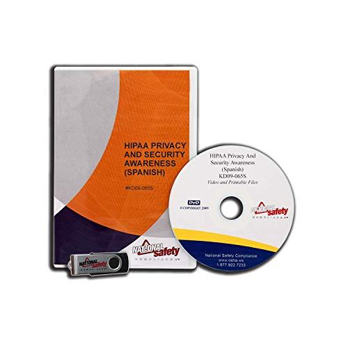9781619461710: HIPAA Privacy & Security Awareness Video Training Kit (Spanish)