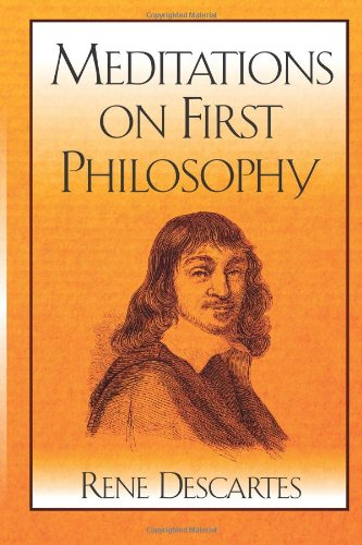 an analysis of the argument from illusion in meditations on first philosophy a book by rene descarte