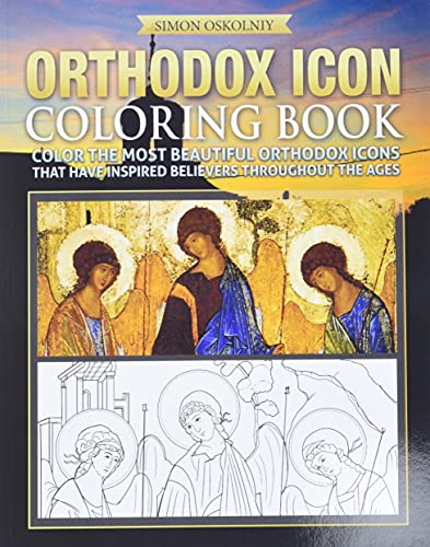 9781619494831: Orthodox Icon Coloring Book