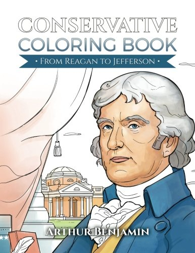 9781619495449: Conservative Coloring Book: From Reagan to Jefferson