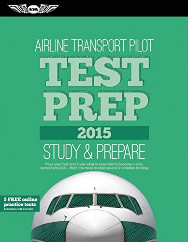 9781619541740: Airline Transport Pilot Test Prep 2015 Book and Tutorial Software Bundle (Test Prep series)