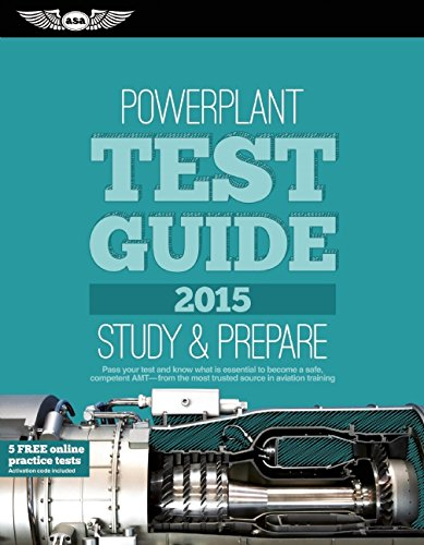 9781619541771: Powerplant Test Guide 2015 Book and Tutorial Software Bundle (Fast-Track Test Guides)