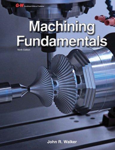 Machining Fundamentals: Walker, John R.; Dixon, Bob