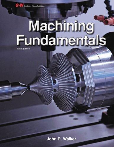 9781619602168: Machining Fundamentals Instructor's Workbook