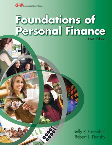 9781619603578: Foundations of Personal Finance