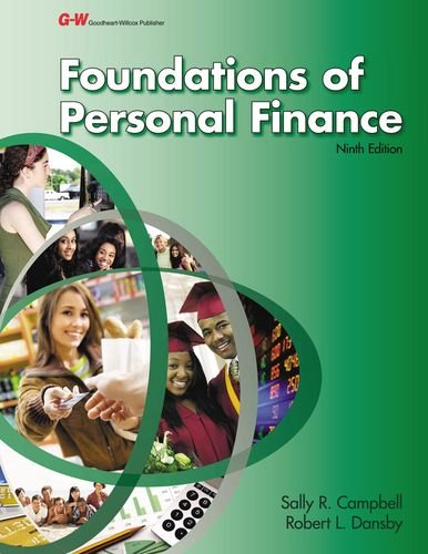 9781619603622: Foundations of Personal Finance