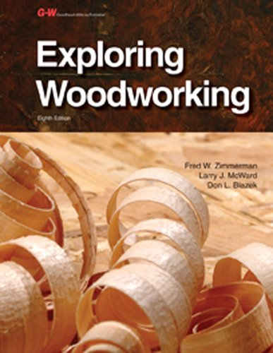 9781619605022: Exploring Woodworking, Instructor's Annotated Workbook
