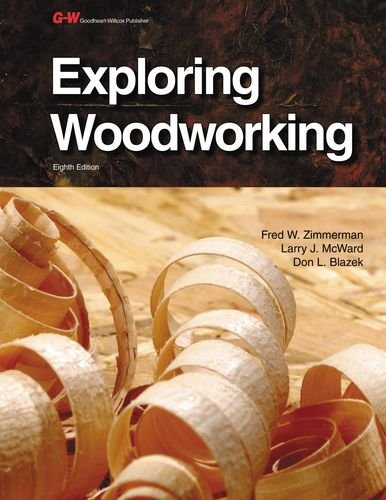 9781619605077: Exploring Woodworking, Instructor's Annotated Workbook