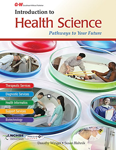 9781619606050: Introduction to Health Science: Pathways to Your Future