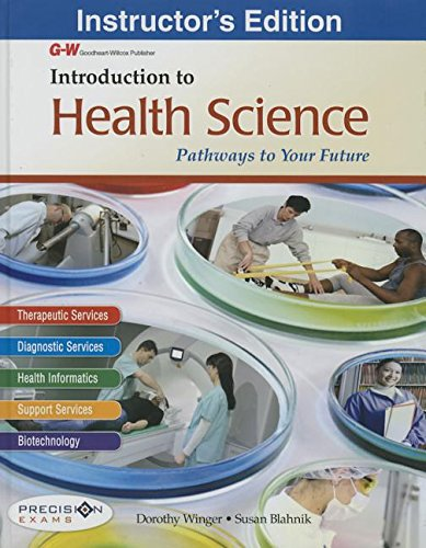 9781619606098: Introduction to Health Science: Pathways to Your Future