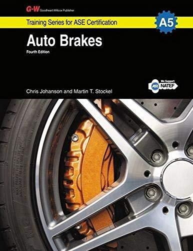 ase brakes isbn abebooks training series goodheart willcox publisher