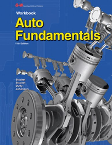 9781619608252: Auto Fundamentals ( Workbook)