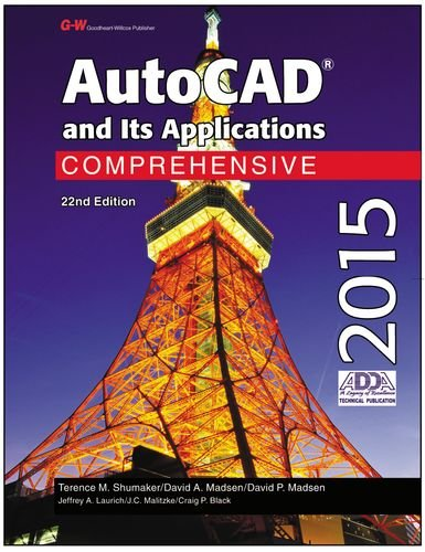 9781619609242: AutoCAD and Its Applications Comprehensive 2015