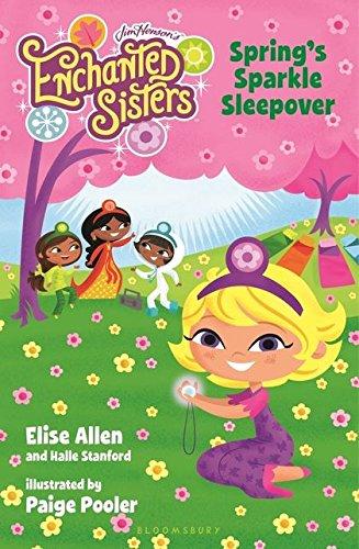 9781619632691: Jim Henson's Enchanted Sisters: Spring's Sparkle Sleepover