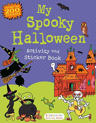 My Spooky Halloween Activity and Sticker Book: Bloomsbury USA