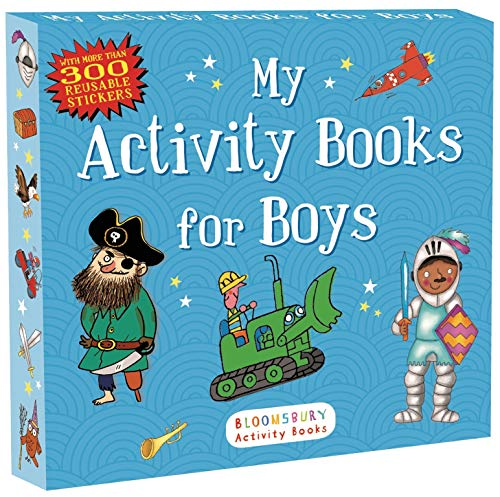 My Activity Books for Boys (Sticker Activity: Anonymous, Bloomsbury