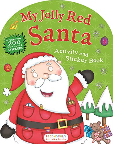 My Jolly Red Santa Activity and Sticker: Bloomsbury USA