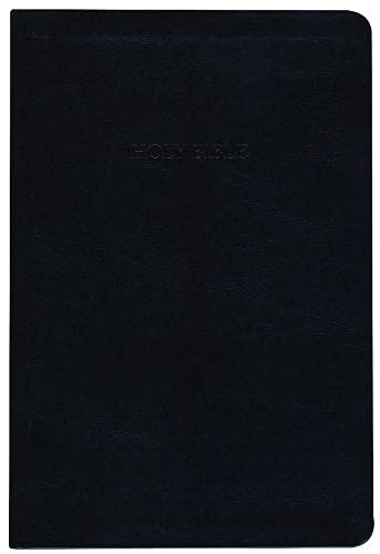 9781619700048: Holy Bible: King James Version, Black, Thinline, Reference