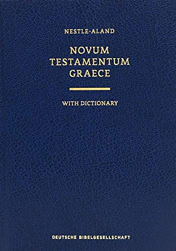 9781619700468: Novum Testamentum Graece With Dictionary: Nestle-Aland (Ancient Greek Edition)