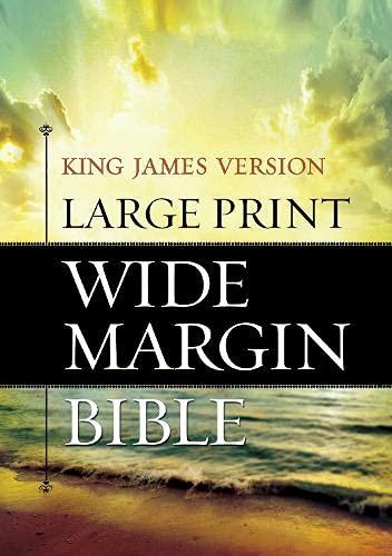 9781619700895: Holy Bible: King James Version, Wide Margin