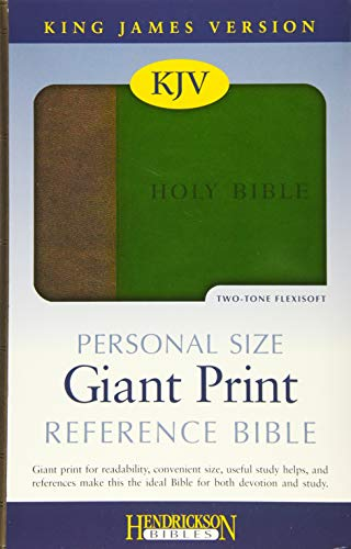 9781619701052: Personal Size Giant Print Reference Bible-KJV