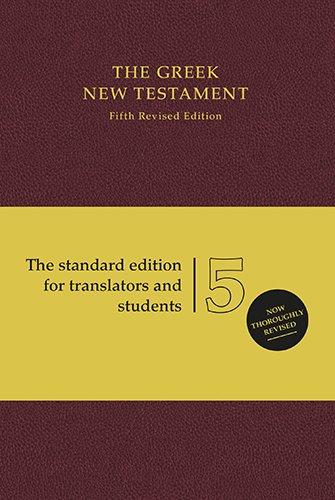 9781619701380: The Greek New Testament: Standard Edition (Greek Edition)