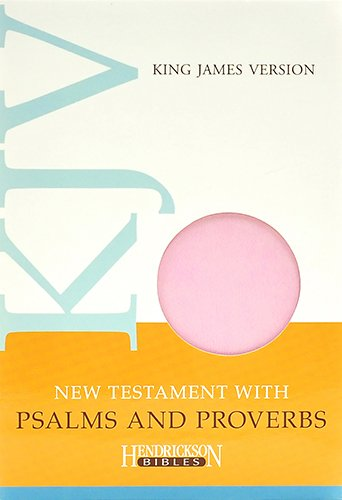 9781619701557: KJV New Testament with Psalms and Proverbs - Light Pink Flexisoft Leather: