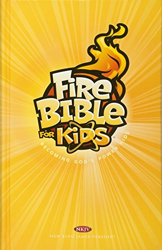 9781619705821: Fire Bible for Kids-NKJV